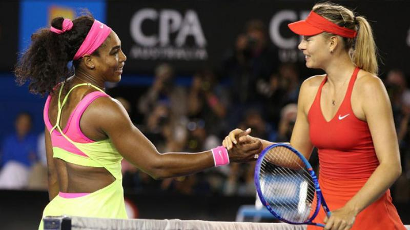Image result for serena williams and sharapova