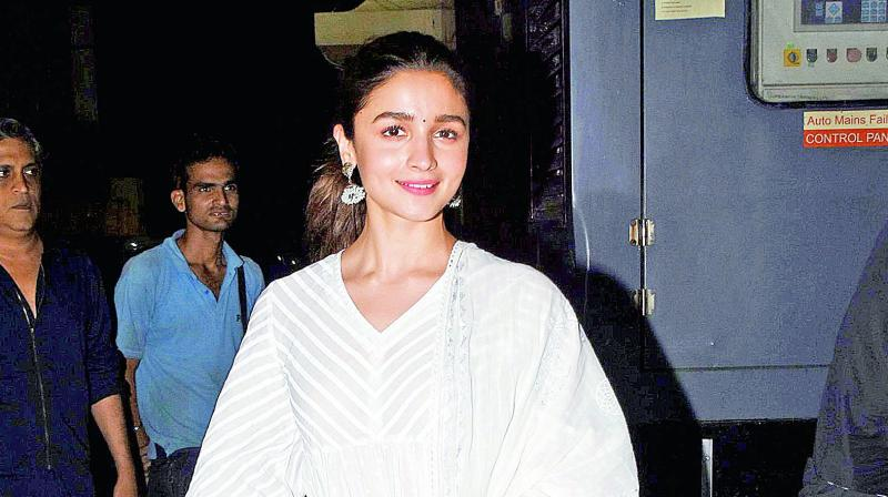 Alia Bhatt.