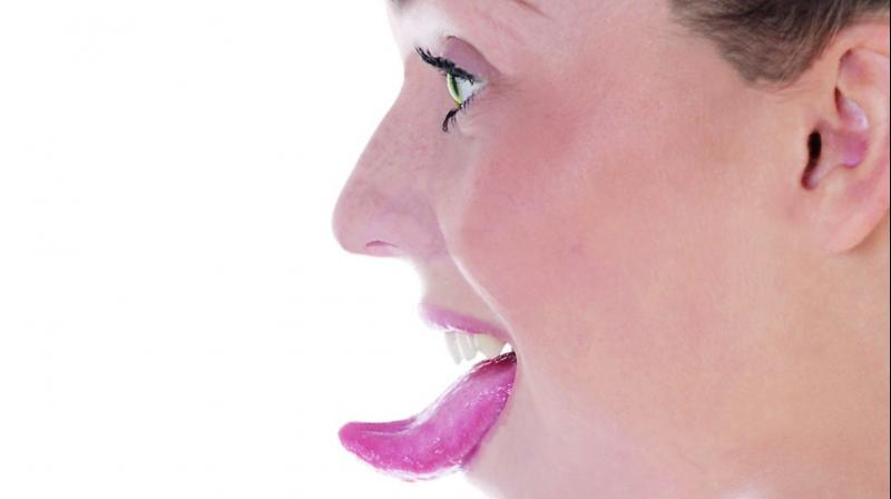 Many people develop cancer sores on the tongue which normally heal within a week or two of treatments,