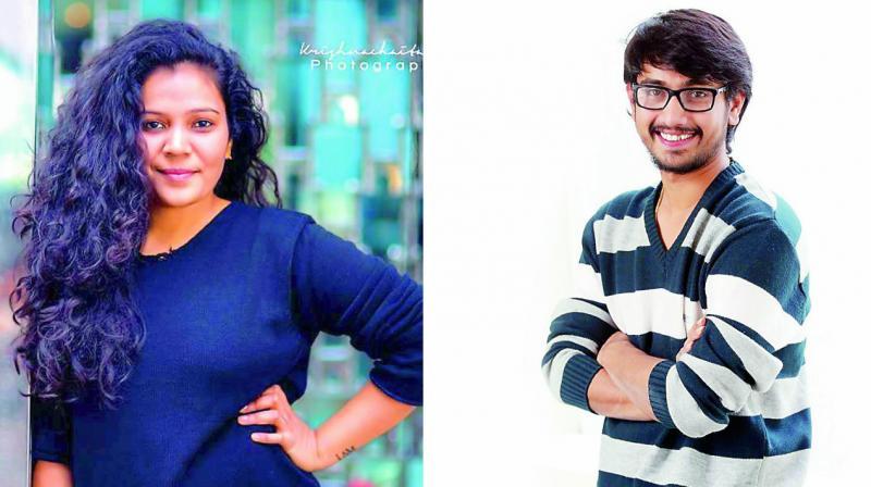 Sanjana Reddy and Raj Tarun
