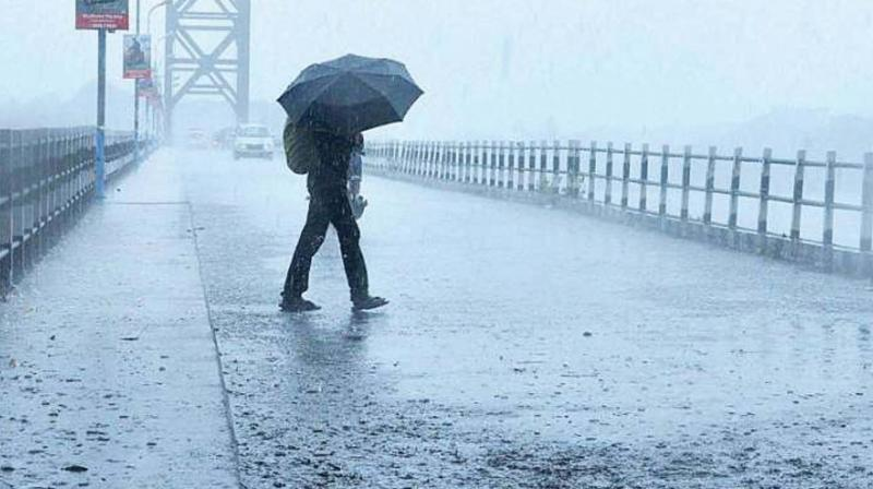 IMD officials said that for the monsoon to withdraw there must be anti-cyclonic circulation and cloudless sky.