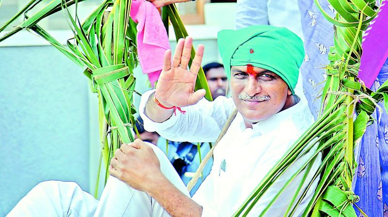 Will live and die a TRS man, says Harish Rao