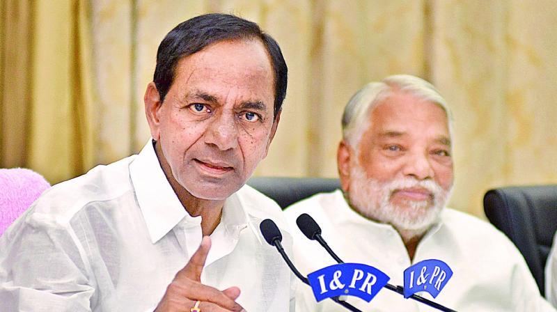Chief Minister K Chandrasekhar Rao