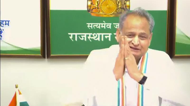 Rajasthan Congress MLAs pledge their support for Ashok Gehlot