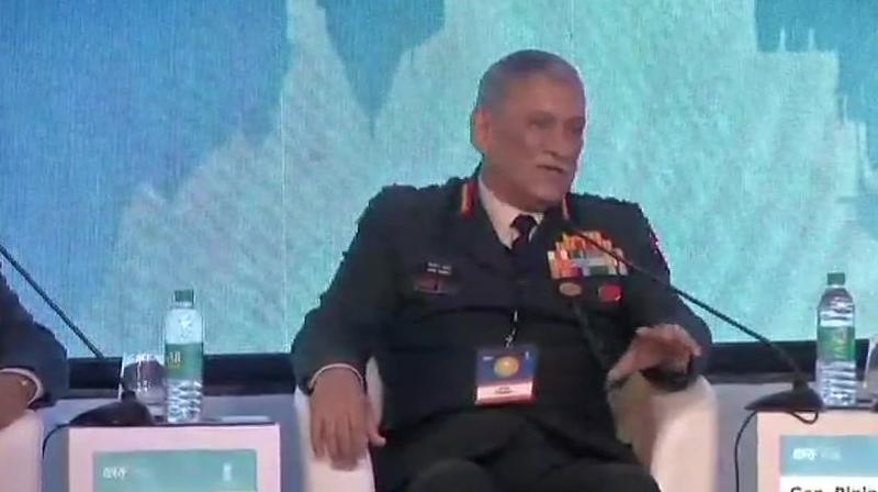 'Terrorism is becoming a new form of warfare. It is now spreading its head like a multi-headed monster,' Rawat said. (Photo: ANI | Twitter)