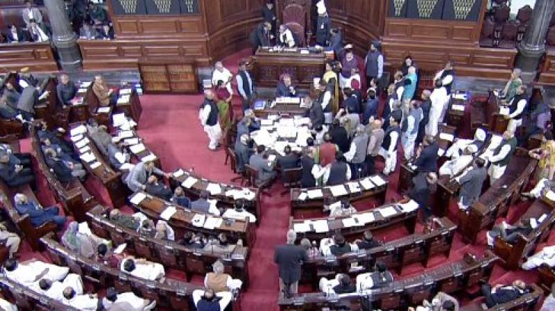 Deputy Chairman Harivansh said that it may be considered his 'personal lapse' and a 'lapse in his understanding' in not conveying at the time of adjourning proceedings on Tuesday that the sitting of the House has been extended by a day. (Photo: ANI | Twitter)