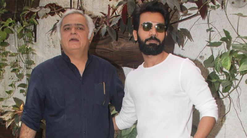 Hansal Mehta and Rajkummar Rao.