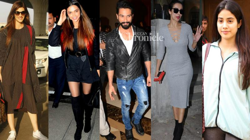 B-Town stars were snapped at various locations on Tuesday as they stepped out. (Photo: Viral Bhayani)