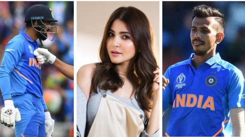 it's not a hidden fact that KL Rahul and Yuzvendra Chahal are very close to the Indian captain Virat Kohli and his wife Anushka Sharma whom the duo calls as 'Bhabi'. (Photo: AFP/Twitter)