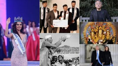 From Jitesh Singh Deo winning Mr India, to India's Manushi Chillar winning Miss World and other moments, we list images that captured our imagination through the months this year. (Photo: AP/ AFP/ Twitter/ Facebook/ Instagram)