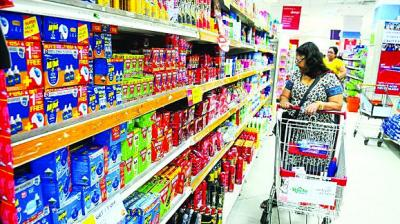 The broad-based slowdown in consumption affected automobiles and FMCG sectors.