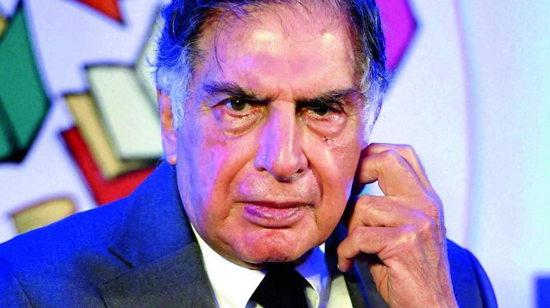 Tata Sons' former chairman Ratan Tata.
