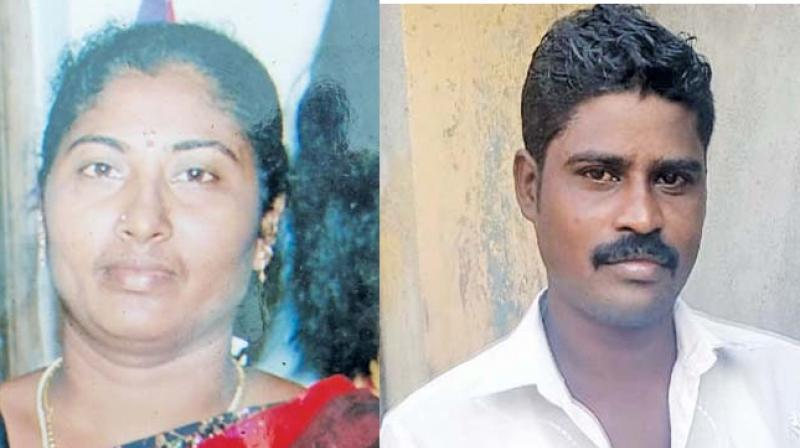 Sathish Kumar went to his mother -in law's house in the wee hours of Sunday to bring her wife back, when Jaya Chitra(48), Sushmitha's mother, refused to send her daughter back with him.
