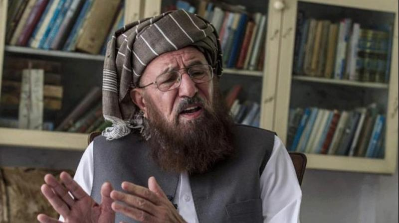 Maulana Samiul Haq (Photo: Twitter | ANI)