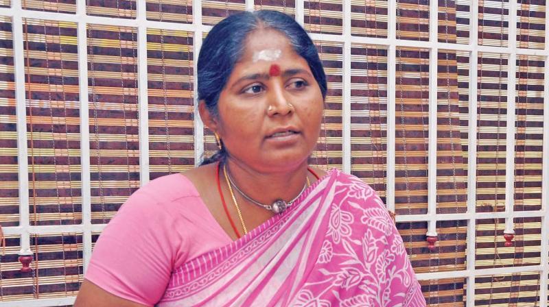 Veerappan's widow, Muthulakshmi