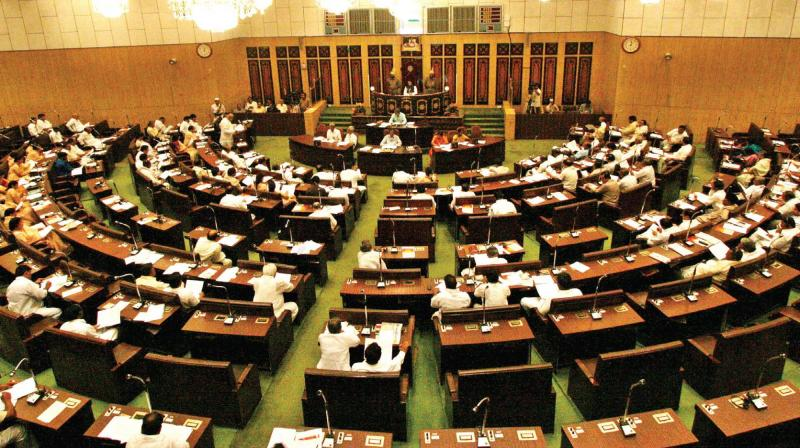 A file photo of Telangana Assembly (Photo: PTI)