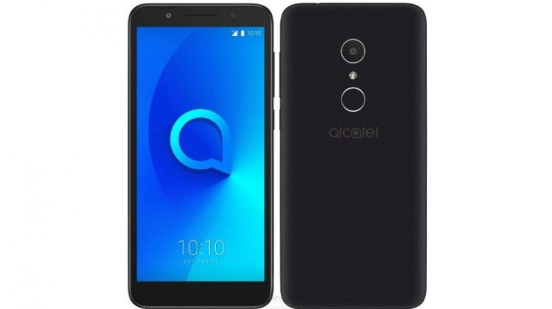 Alcatel 1X is India's first 18:9 display equipped Android Go smartphone