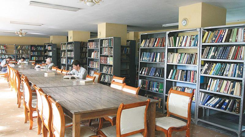Inside the Kabul Public Library