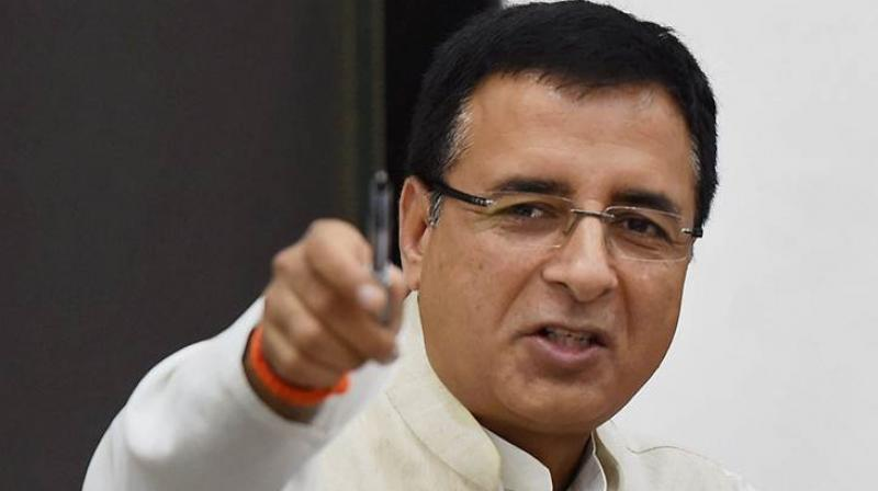 Surjewala said in a tweet in Hindi, along with the cover of the Time magazine that also carried a picture of Modi. (Photo: File)