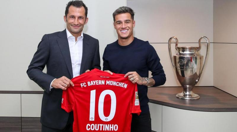 Brazilian star midfielder Philippe Coutinho will not make his first Bundesliga start when Bayern Munich travel to Schalke on Saturday, said coach Niko Kovac on Thursday. (Photo:AFP)