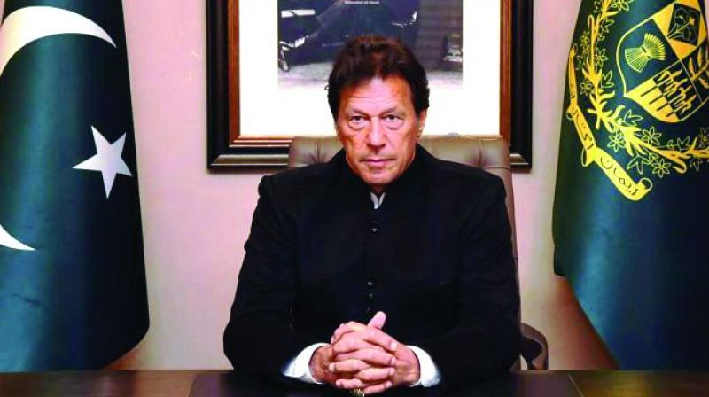Prime Minister Khan in his message on Pakistan's Defence and Martyrs Day said his government has launched a proactive diplomatic campaign in the world capitals and at the United Nations to apprise the world community about Kashmir after India revoked Jammu and Kashmir's special status on August 5. (Photo: File)