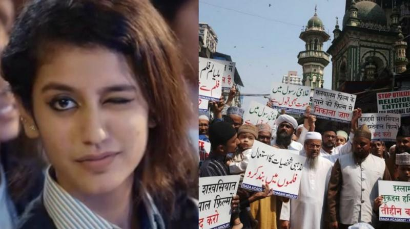 After a fatwa and police complaint, Raza Academy are the latest to protest against Priya Prakash Varrier starrer song 'Manikya Malaraya Poovi'.