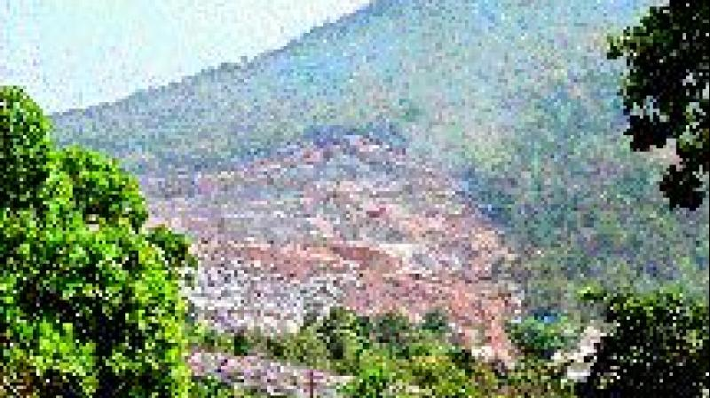 The reservoir and its environs, which are a livelihood source for farmers and Adivasis in the area, are in a danger due to granite mining in its catchment area.