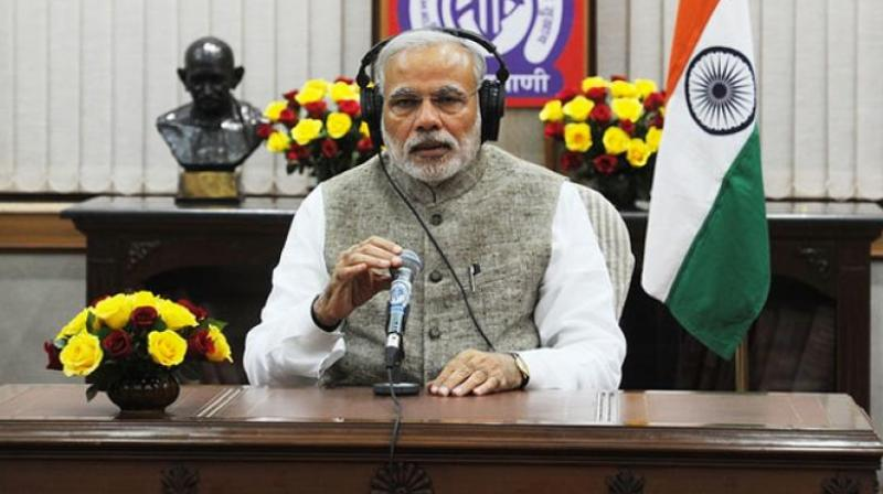 'Jann ki Baat' will form part of the 20-day celebrations the BJP has planned to mark the Modi government's three years in office beginning May 26, the day he was sworn-in as prime minister in 2014.  (Photo: PTI)