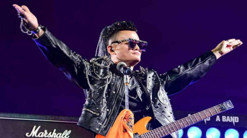 Jack Ma bids Alibaba farewell with rock show