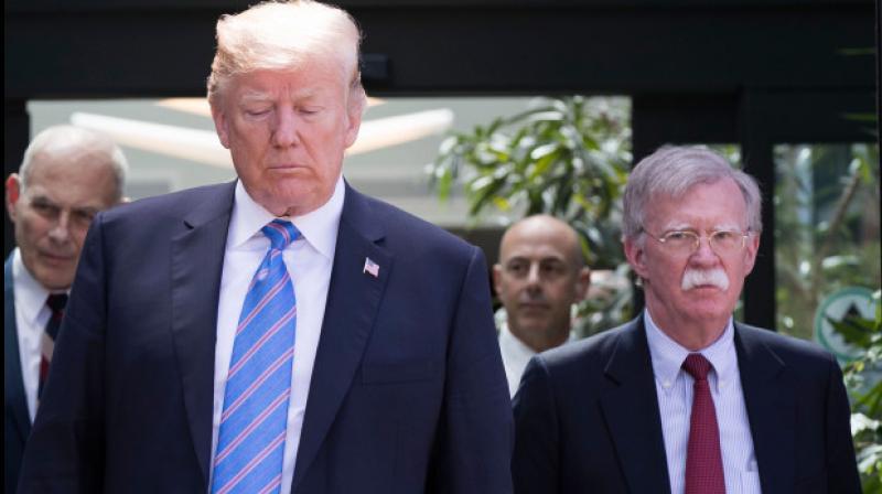 Strong disagreement: Trump fires national security chief John Bolton