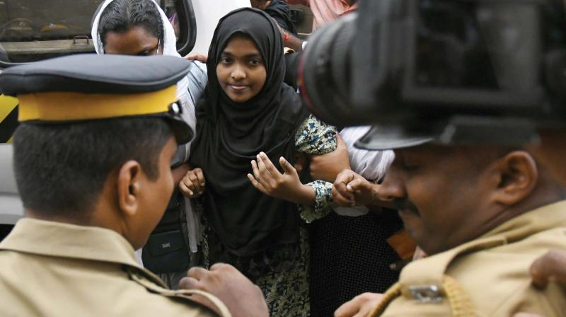 Nobody forced me to convert: Hadiya