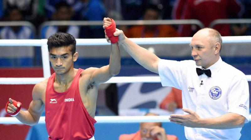 Shiva Thapa is also the reigning national champion and a former bronze-medallist at the world championships. (Photo: PTI)