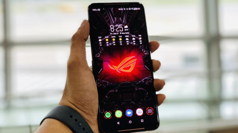 ASUS ROG Phone II is dressed to slay.
