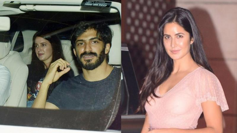 Harshvardhan Kapoor and Isabelle Kaif spotted outside a theatre, Katrina Kaif at Akash Ambani's engagement.