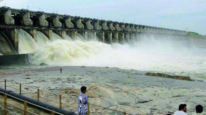 Sriramsagar dam