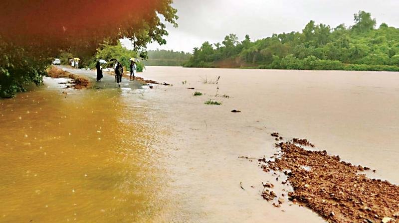 Heavy rains left Mangaluru city and outskirts flooded