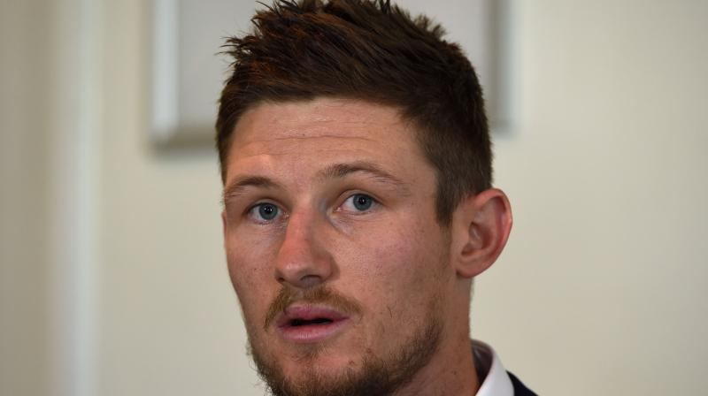 Disgraced Australian player Cameron Bancroft Saturday said he was a vastly different person to the one caught ball-tampering and revealed he considered walking away from cricket to become a yoga teacher. (Photo: AFP)