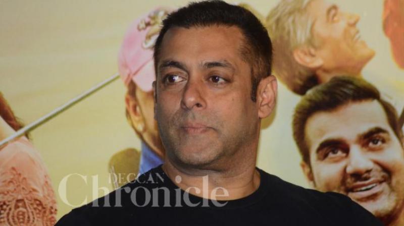 Salman Khan with Bipasha Basu and Prabhudeva at a press conference in New Zealand. (Pics: Twitter)