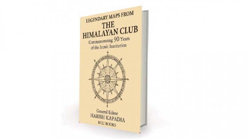 Legendary Maps from the Himalayan Club: Commemorating 90 Years of the Iconic Institution, edited by Hairsh Kapadia Roli Books, Rs 495