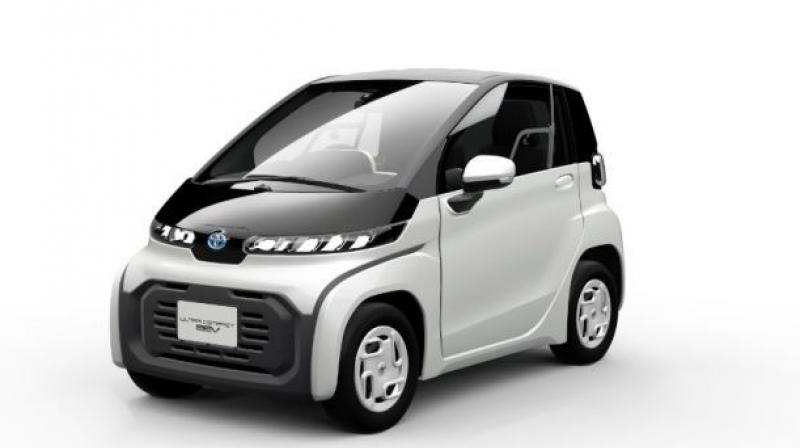 The EV will be shared by Toyota and Suzuki for India.