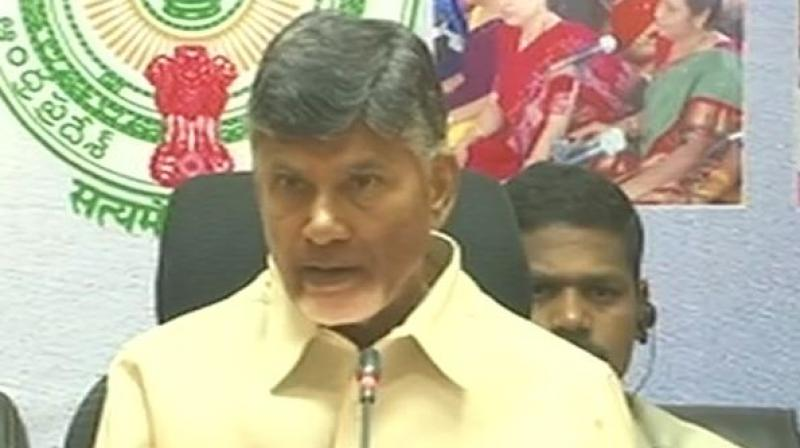 Naidu further said a mega seed park will be set up in association with Iowa University in the United States. (Photo: ANI | Twitter)