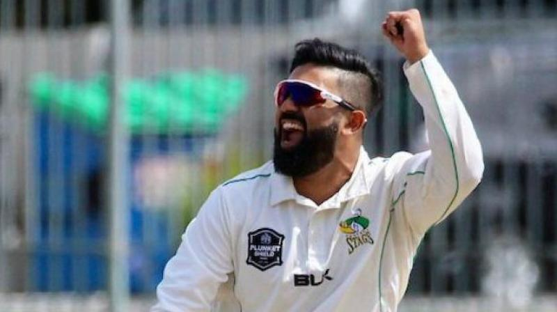 Ajaz named in New Zealand squad for Pak Tests