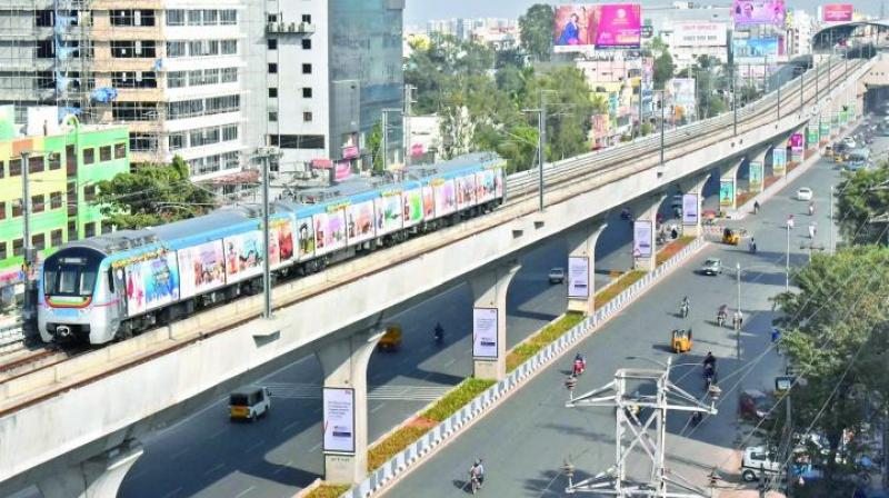 L&T follows the naming rights concept, in which a word is suffixed to the Metro Rail station. (Representional Image)