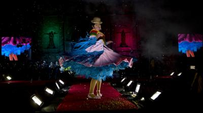Cholita is the style of clothing worn by many of the country's indigenous women. (Photos: AP)