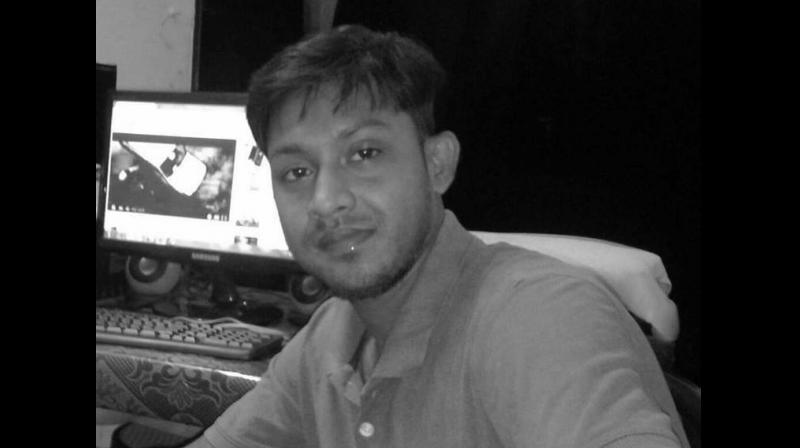 'Dinrat' news channel journalist Santanu Bhowmik was abducted and killed in West Tripura district while covering the agitation and road blockade by the Indigenous People's Front of Tripura. (Photo: Facebook: santanu.bhowmik.370)
