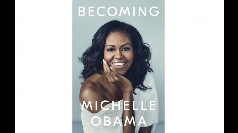 Obama, the wife of Barack Obama, who was president from 2009 to 2017, was in London to promote her best-selling autobiography 'Becoming'. (Photo: File)