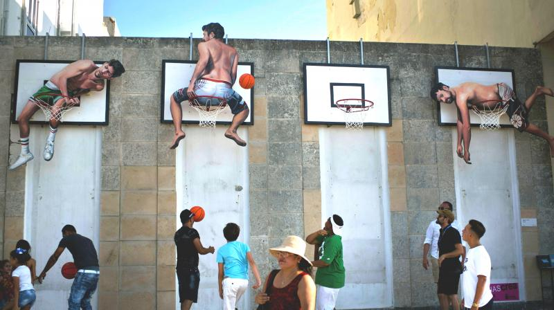Havana's 13th Biennial kicked off this weekend with works by more than 300 contemporary artists from 52 countries taking over the city's museums, galleries and open-air spaces. (Photo: AP)