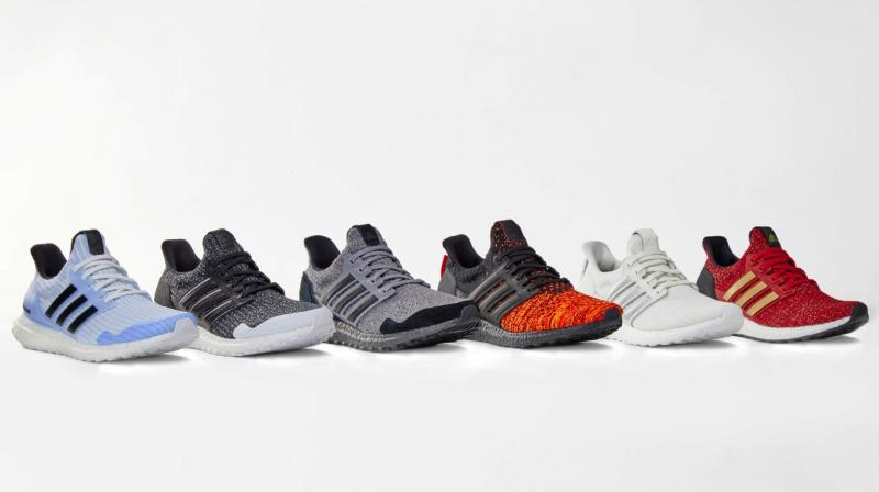 "Some of the ideas resulted in fashion collaborations with companies like Adidas, who created the now hard-to-find ""Adidas x Game of Thrones Ultra Boosts"" shoes. (Photo: AP)"