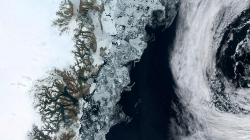 There is something that is affecting the four corners of Greenland, not just the warmer parts in the south. (Photo: AFP)