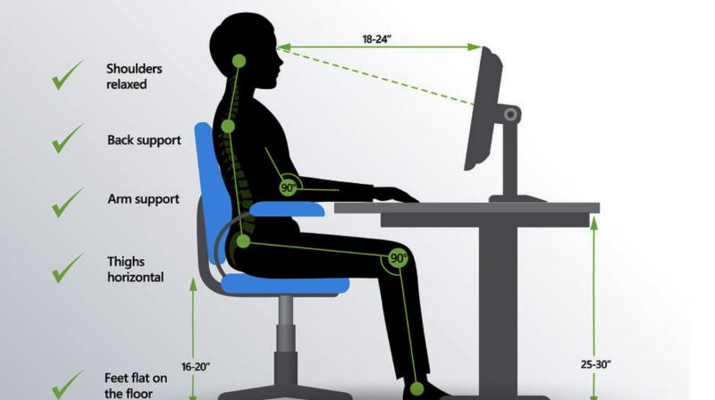 The number of hours and the restrictive posture is bound to cause chronic back pain. (Photo: QI Spine Clinic)